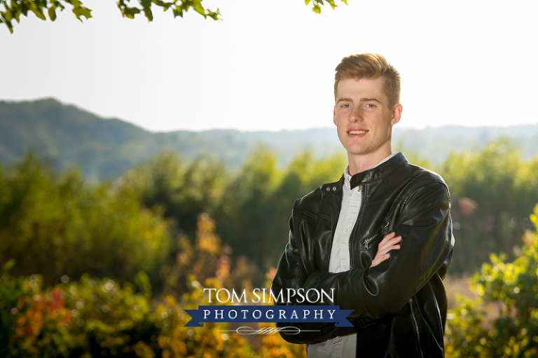 high school senior boy portraits ft madison il